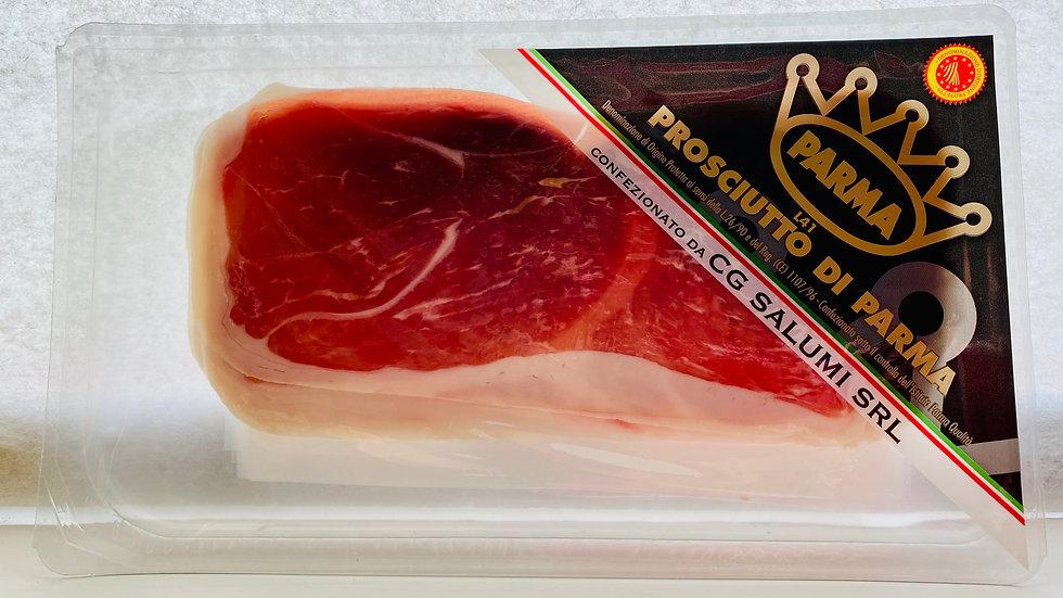 Freshly cut Parma Ham