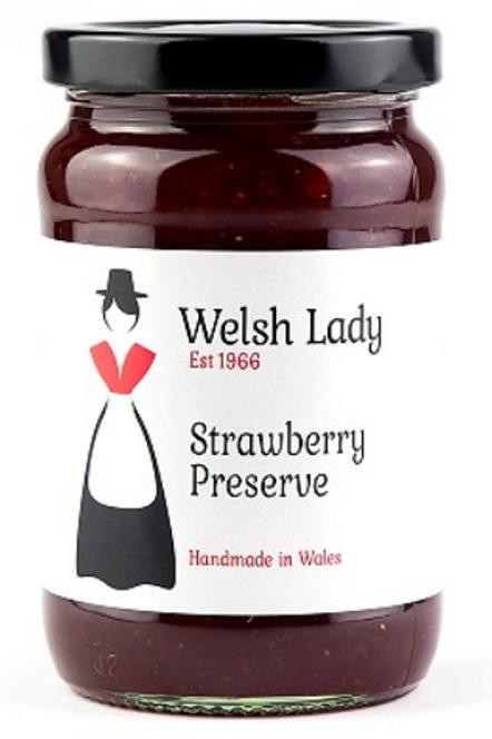 Welsh Lady Strawberry Conserve