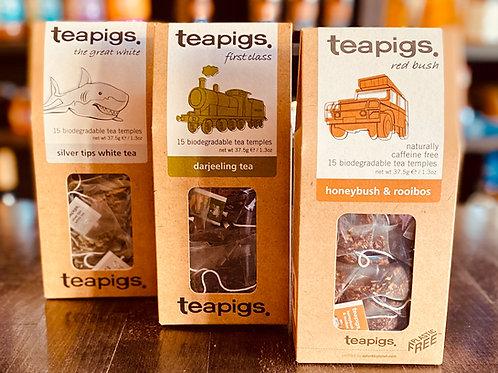 Teapigs Silver tips, Darjeeling, Honeybush & rooibos