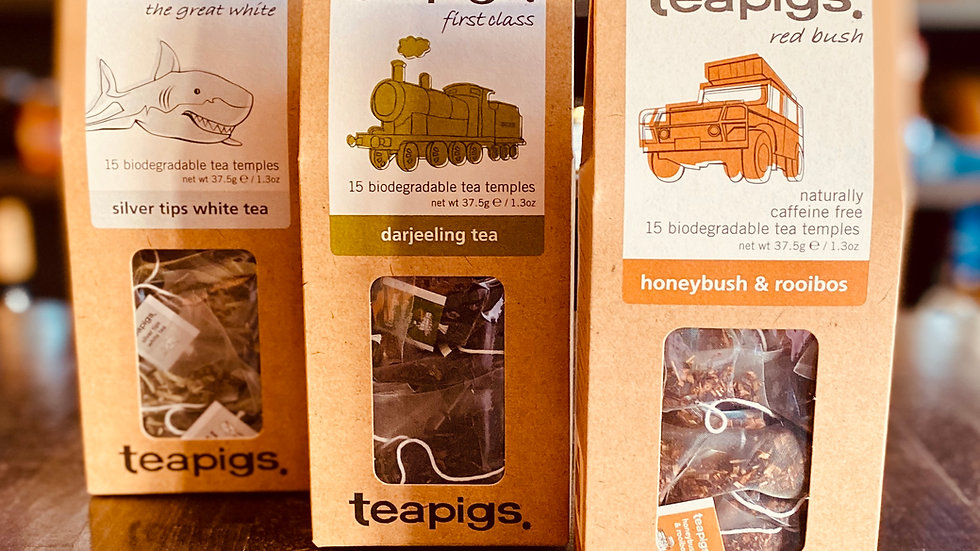 Teapigs Silver tips, Darjeeling, Honeybush & rooibos