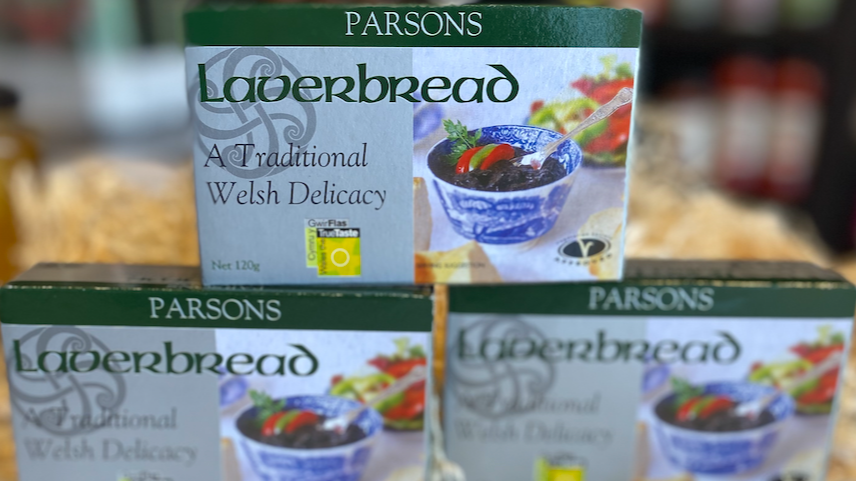 Parson tinned Laverbread