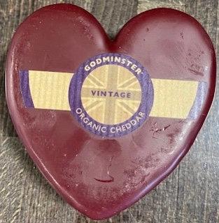 Godminster Heart Cheddar Truckle 200g