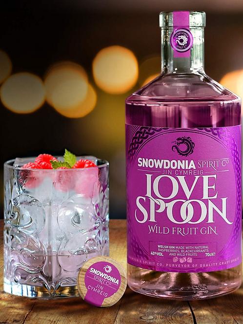 Love Spoon Welsh Gin