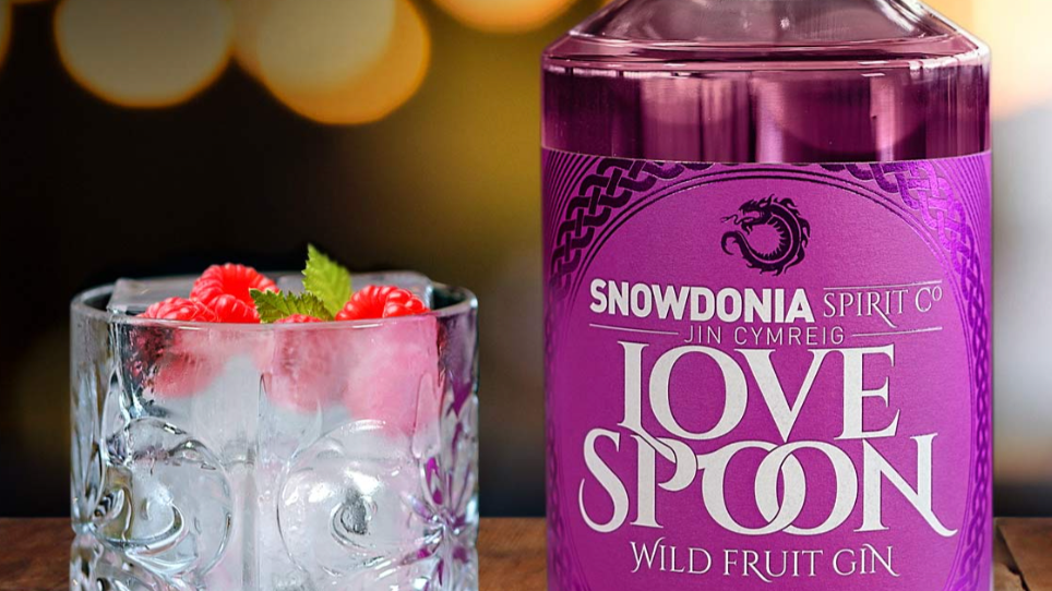 Love Spoon Welsh Gin