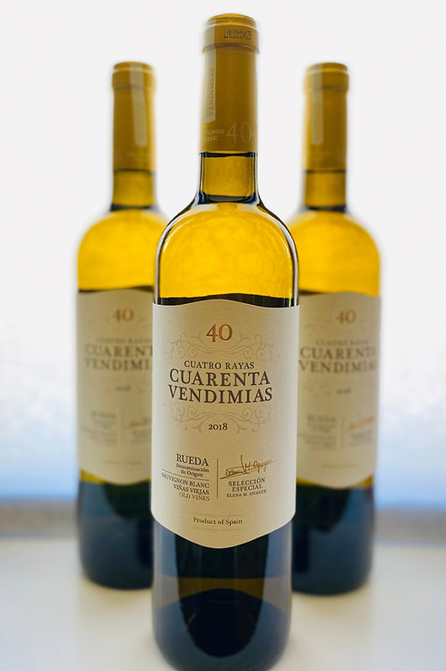 Cuarenta Vendimias Sauvignon Blanc White Wine