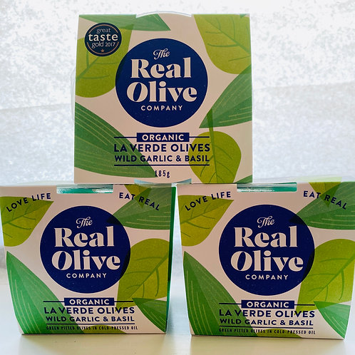 Real Olive Co Organic Olives