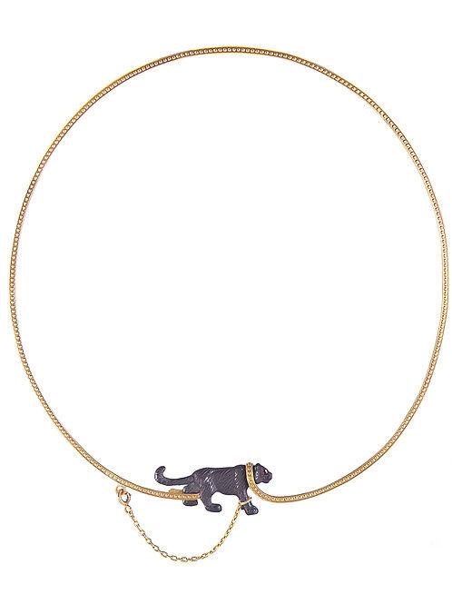 Captive Black Tiger necklace