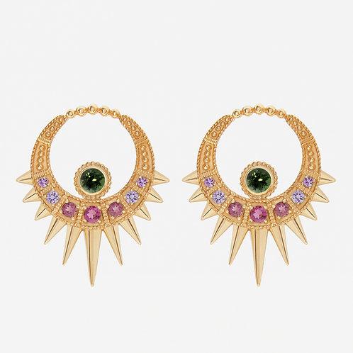 Long Pink Moon Earrings