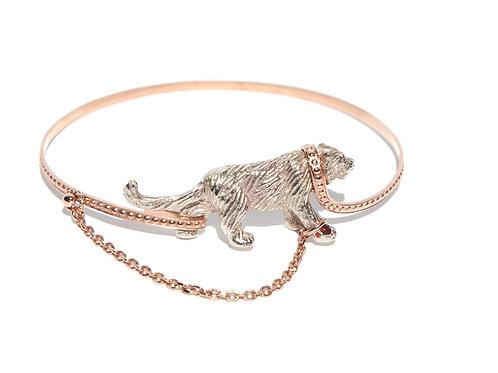 Captive Pink Tiger bangle