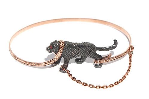 Captive Black Tiger bangle,