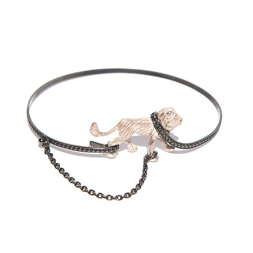 Captive White Lion bangle
