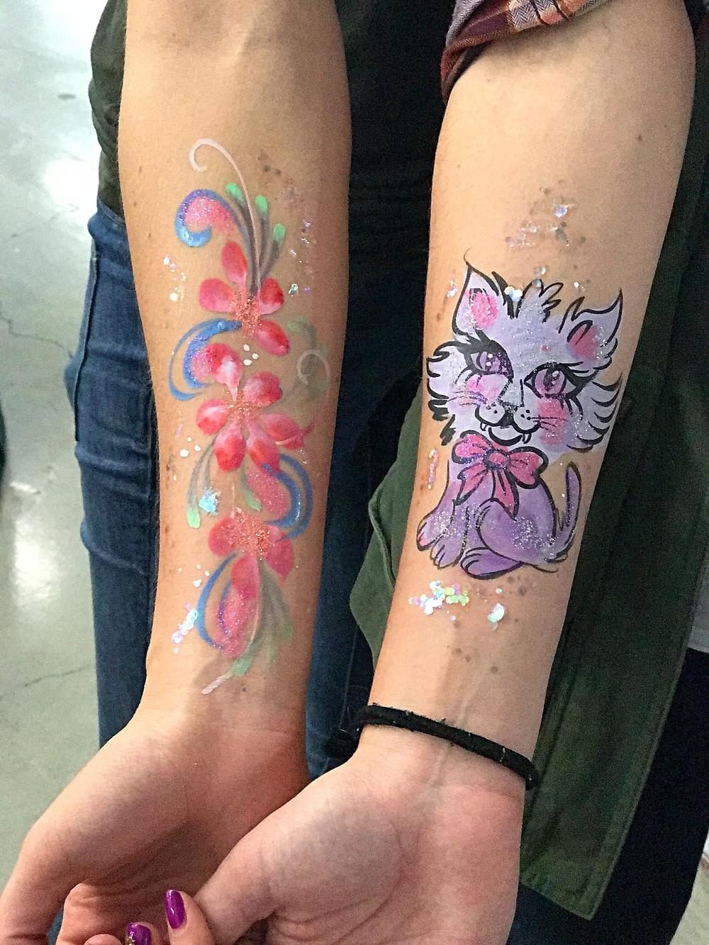 kitty body art