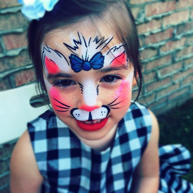 #kitty #adorable #cute #facepainting  #kidsfacepainting #faceArt #colorful #Facepainter #LAfacepaint
