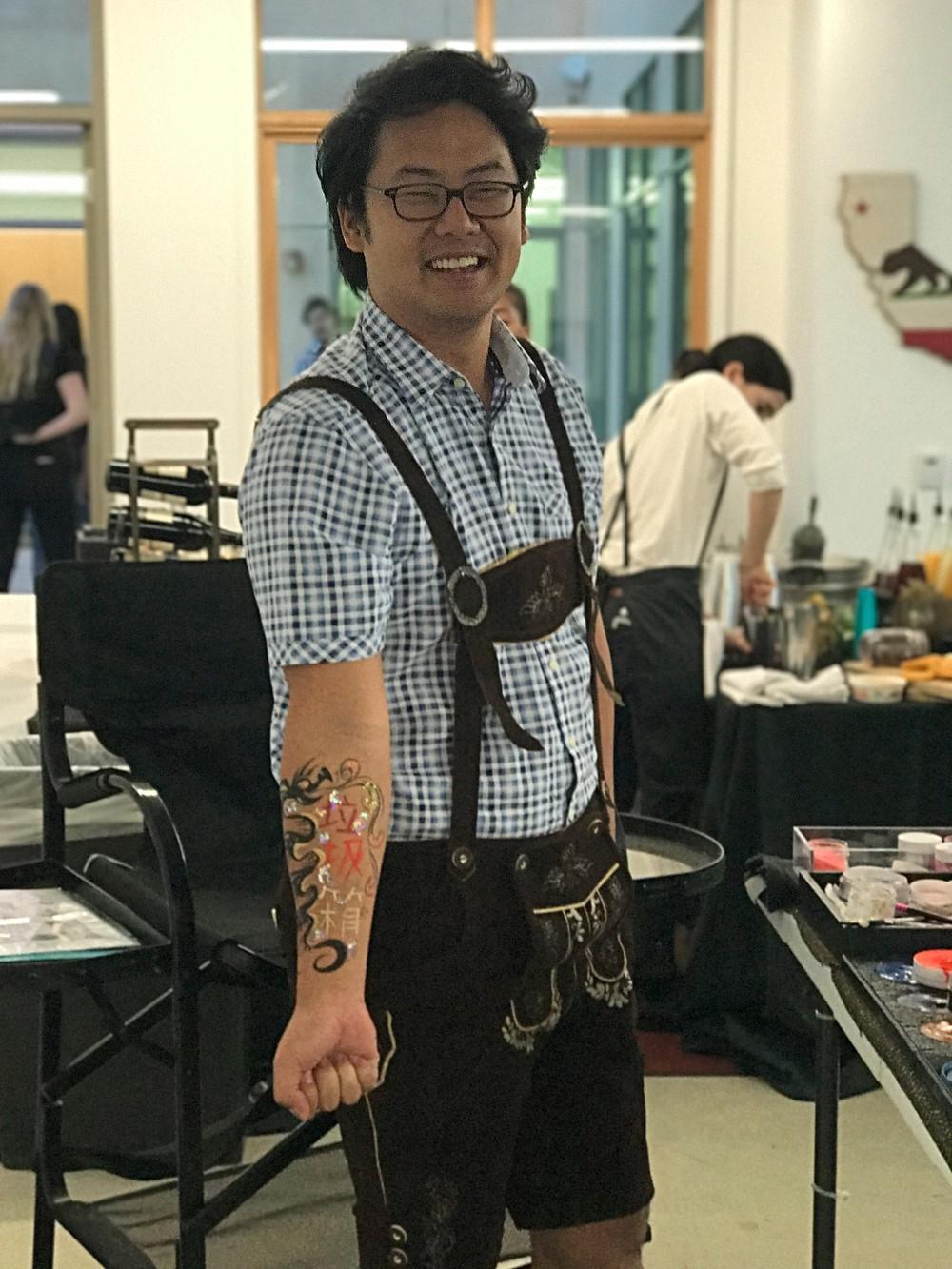dragon arm painting