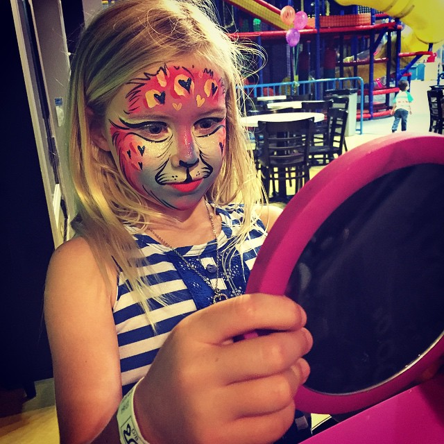 #leopard #makeup #cat #facepainting #kidsparty #kidsfacepainting #colorful #realArt #Facepainter #Pa