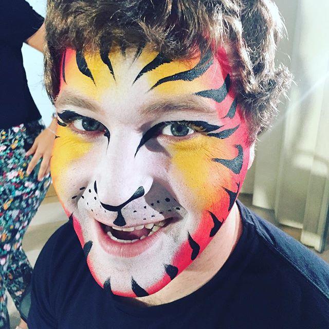 #onset #tiger #facepaint #facepainting #tigerfacepaint #spiritanimal #kidsfacepainter #facepainter #