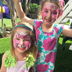 #Cuties from one of our weekend #birthdayparties. #Birthday girl is a kitty and her older sister, a