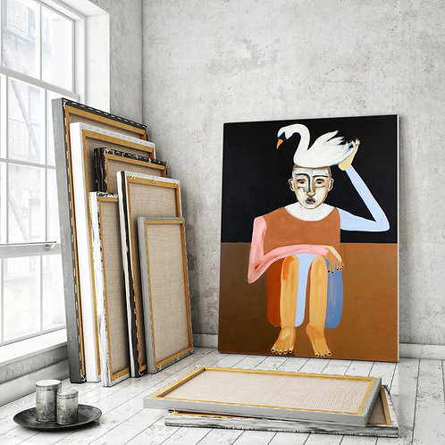 Forvandling originalt maleri SOLGT