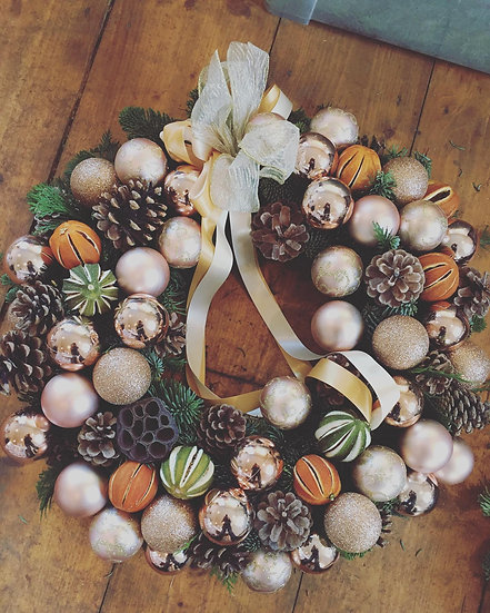 Bespoke Artificial Christmas Wreath