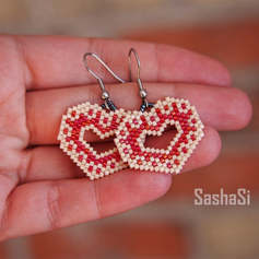 Heart Earrings, Folklore Collection