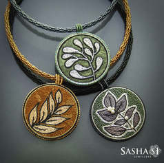 Embroidery and Beadwork Necklaces