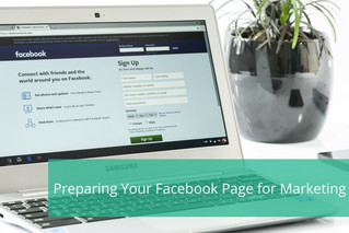 Preparing Your Facebook Page for Marketing