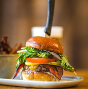 Local Grass Fed Beef Burger