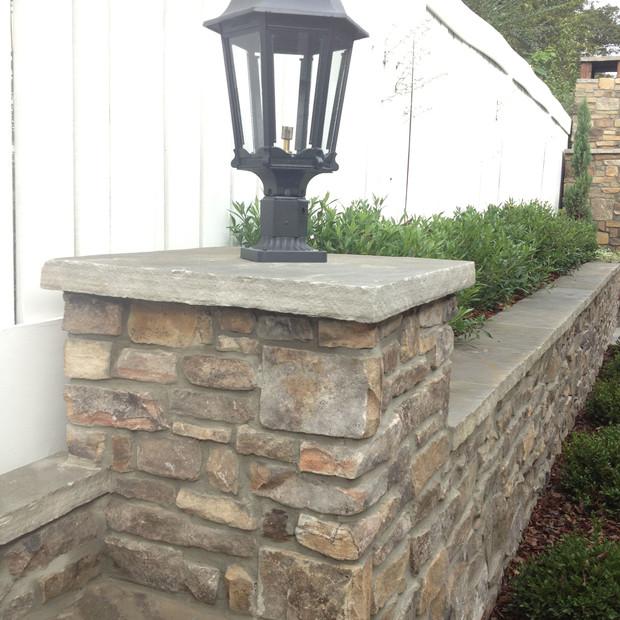 Natural Stone Walls Knoxville TN