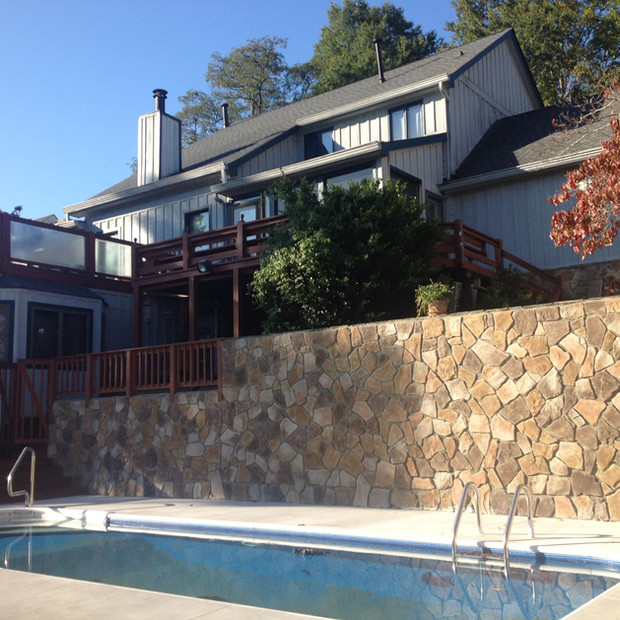 Stone Retaining Wall Knoxville