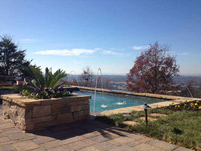 Swimming Pool & Hardscape