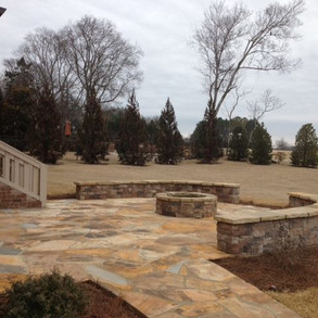 Retaining Walls Knoxville, Horizon Stone - Masonry Retaining Wall