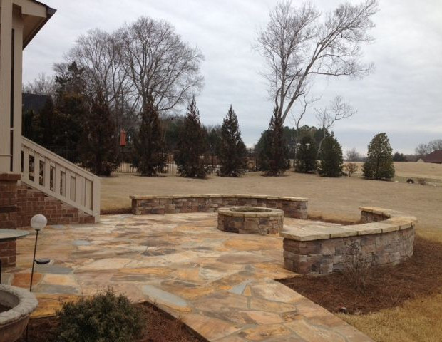 Retaining Walls Knoxville, Horizon Stone - Masonry Retaining Wall