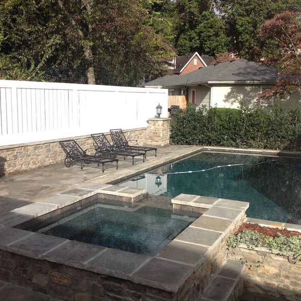 Natural Stone Retaining Walls Knoxville TN