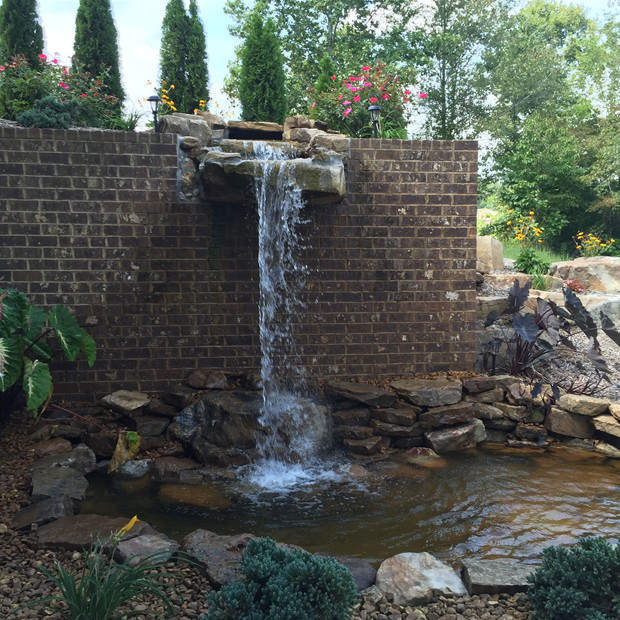 Brick - Masonry Retaining Wall