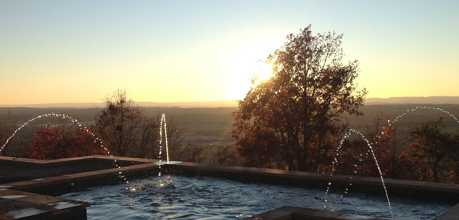 Swimming pools knoxville tn designed and installed by Knoxville Land Design.