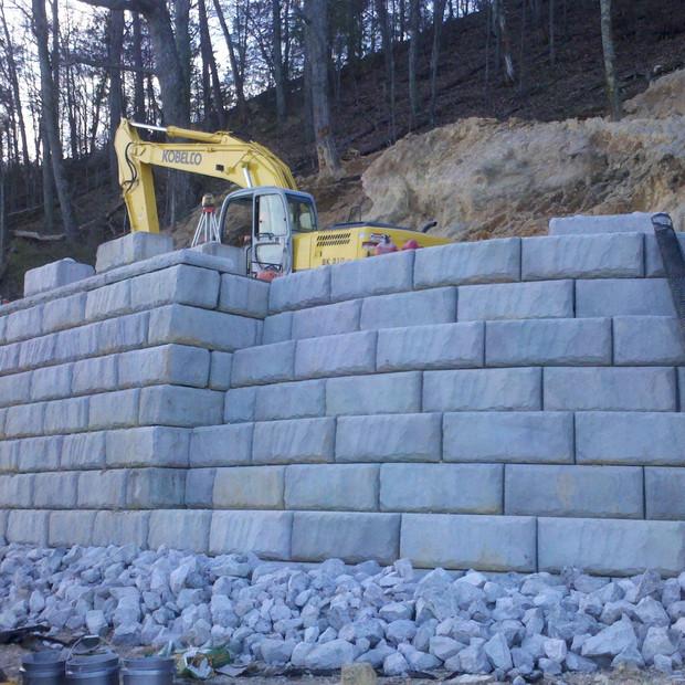Redi-Rock Retaining Walls Knoxville TN