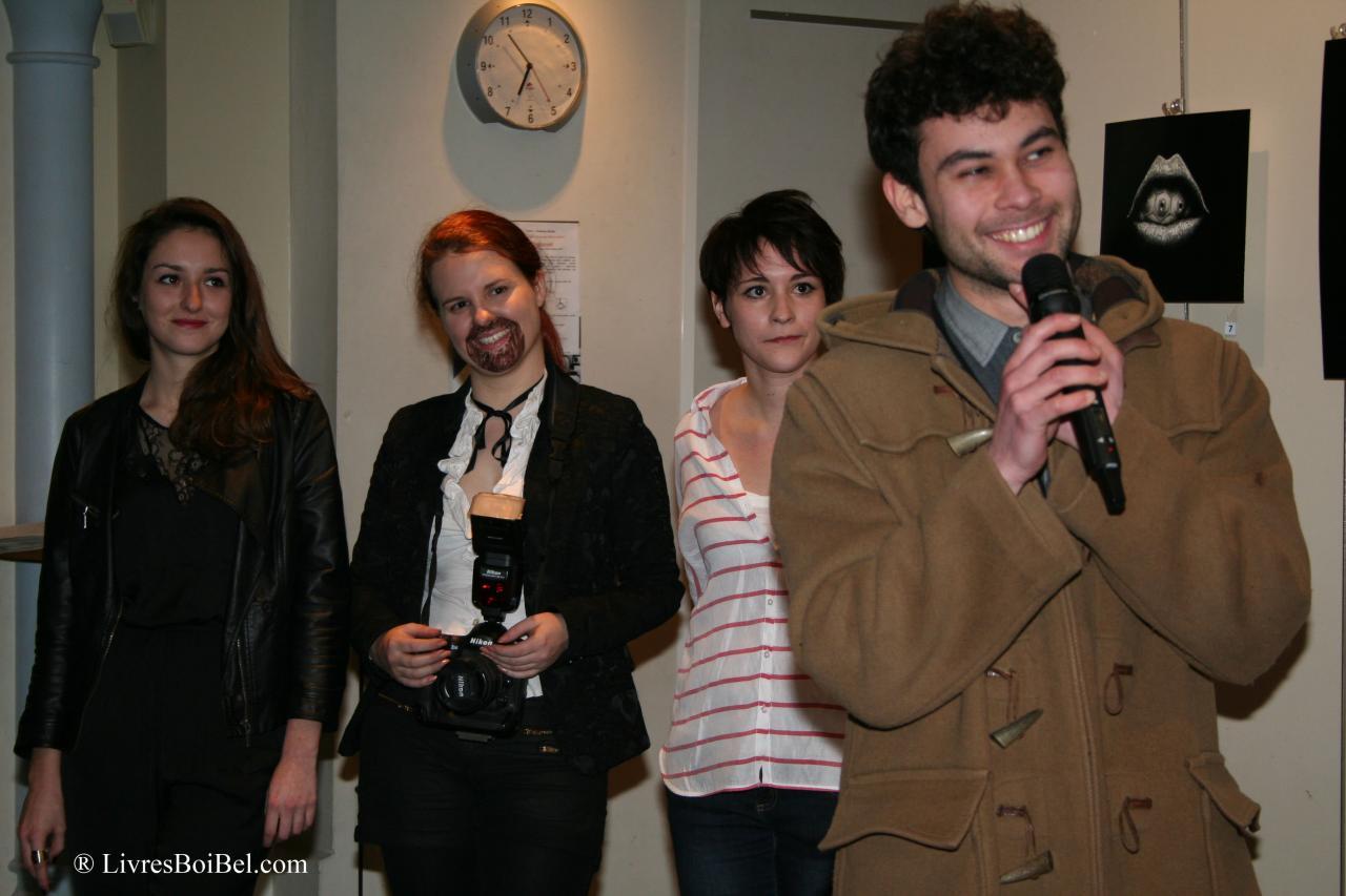 vernissage en présence des artistes