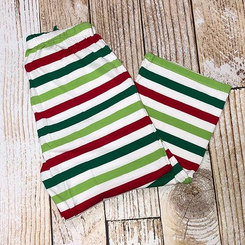 Multi Stripe Adult Christmas Pajama Pants