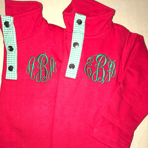 Red/Green Youth Miller Pullovers