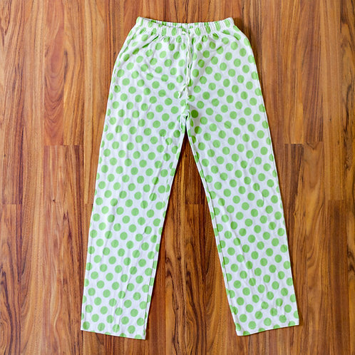 Lime Dot Adult Christmas Pajama Pants