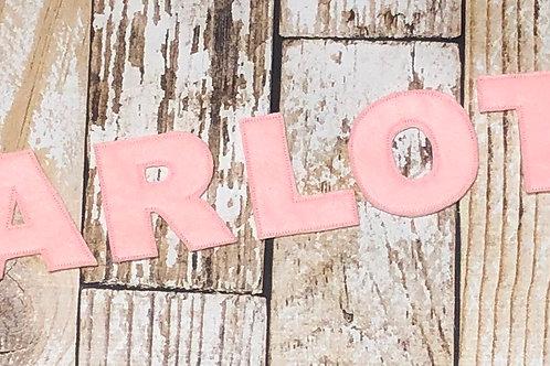 Name Felt Letters