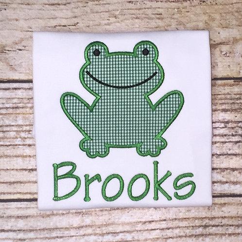 Frog Applique