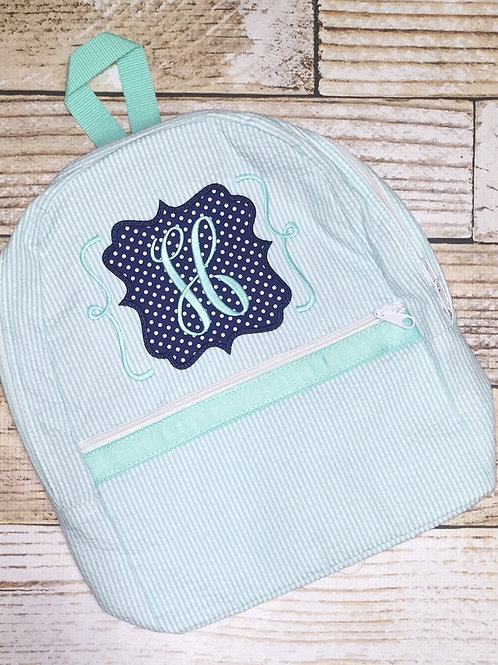 Add Applique to Oh Mint Lunchbox, Backpack, or Duffle Bag
