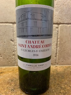 Beyond Good Value: Château Saint André Corbin