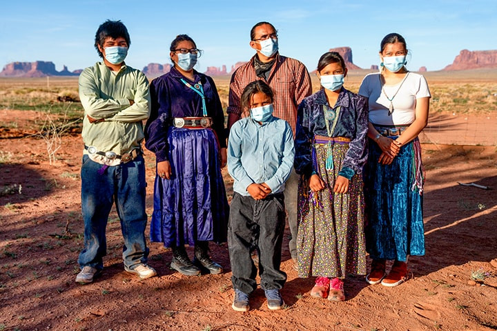The Indigenous population of the US is more susceptible to COVID-19 (Photo Credit: MedPage Today)