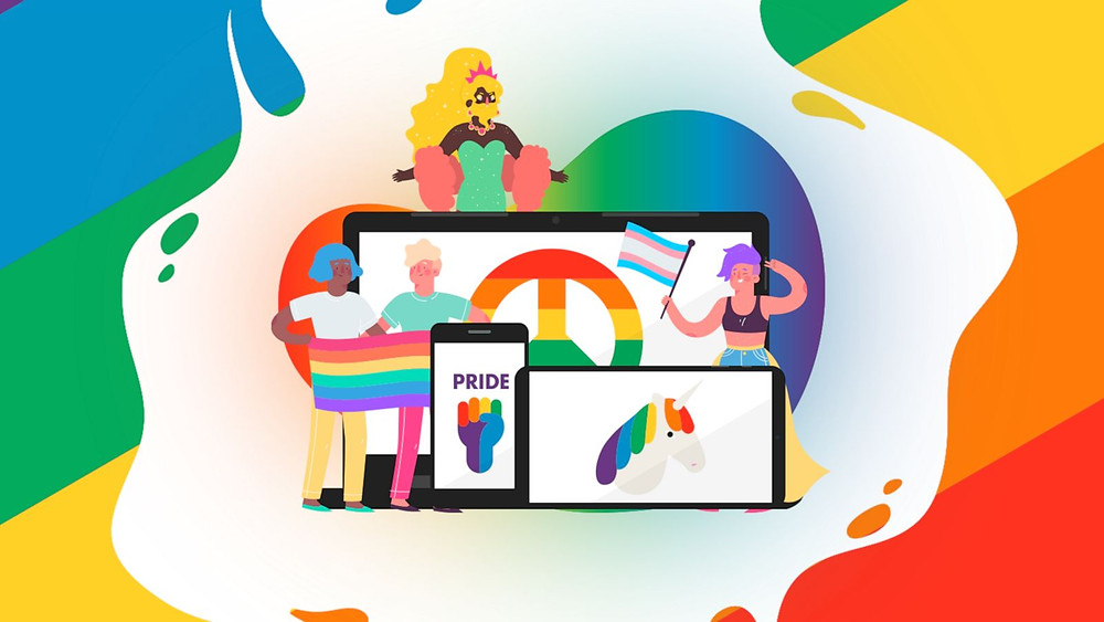 Many NYC Pride events took place virtually this year (Photo Credit: Good Morning America)