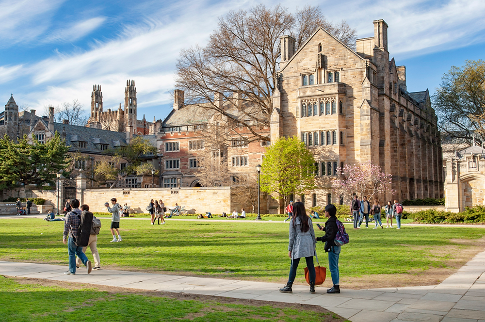 Yale University in New Haven, CT (Photo Credit: Yale University)