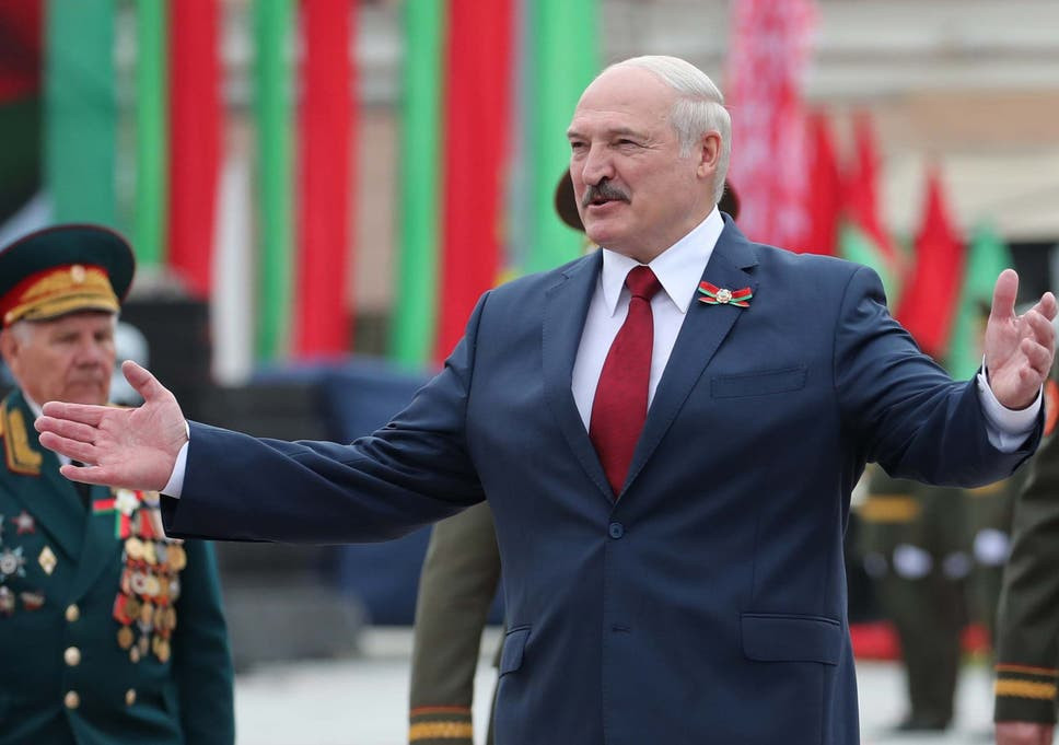 Belarus President Alexander Lukashenko (Photo Credit: The Independent)