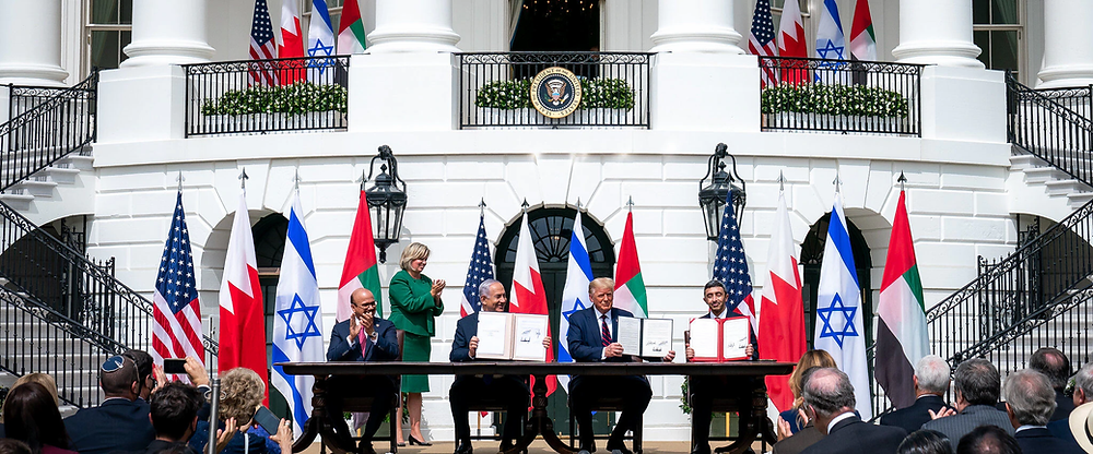 The signing of the Abraham Accords (Photo Credit: State Department)