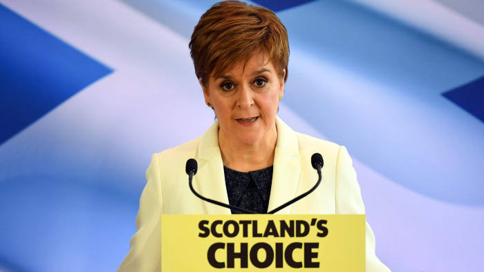 First Minister of Scotland Nicola Sturgeon (Photo Credit: Financial Times)